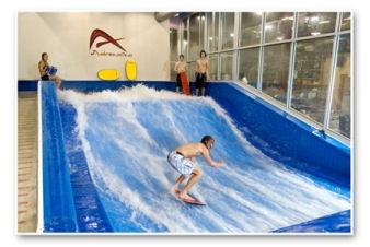 Flowrider Indoor Surfing - Sacramento-ish, CA - June 2009