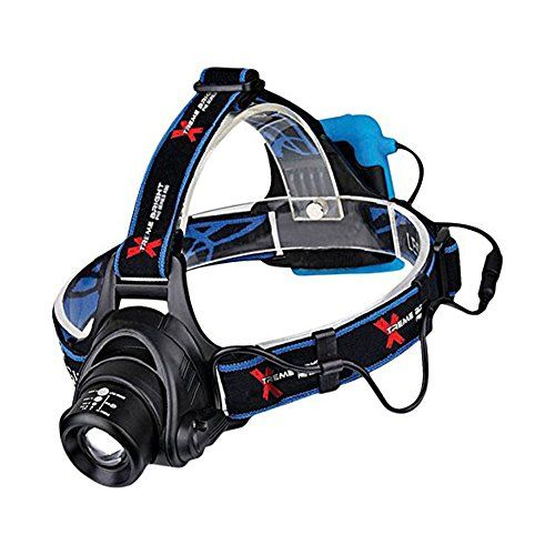 Xtreme Bright Pro Series X55 LED Headlamp - Ultimate in camping headlamps & great addition to camping and hiking equipment. For product info go to:  https://all4hiking.com/products/xtreme-bright-pro-series-x55-led-headlamp-ultimate-in-camping-headlamps-great-addition-to-camping-and-hiking-equipment/