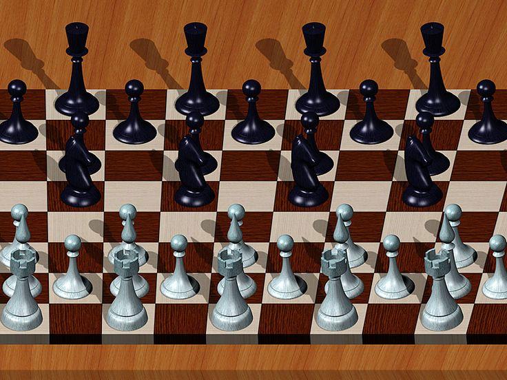 Chess Board Stereogram