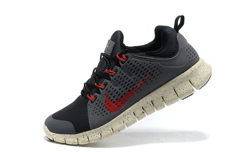 Nike Free Powerlines+ II Mens Dark Blue Grey Sport Red