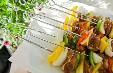 Grillspyd med kylling, ananas & PeppadewTM