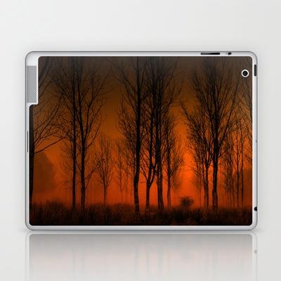 La tarde en llamas Laptop & iPad Skin by unaciertamirada - $25.00