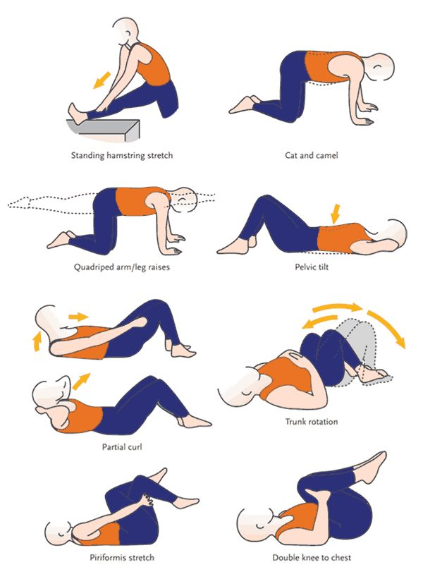 Exercise For Lower Back EXERCISES TO ASSIST RECOVERY