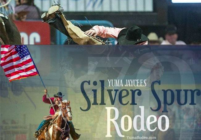 Next up in the Tough Enough to Wear Pink 2015 Rodeo lineup? The Yuma Jaycees Silver Spur Rodeo on February 14th. Grab your Pink, and your Sweetie, and head out show your support! http://www.yumarodeo.com/
