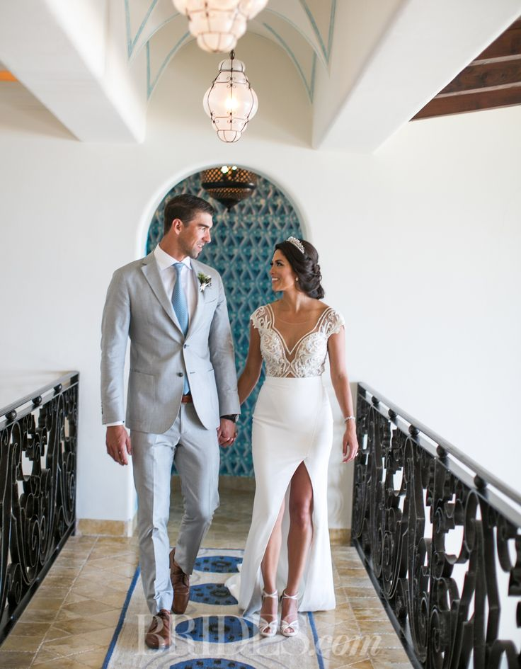 Michael Phelps and Nicole Johnson's Wedding Video is the Best Way to End 2016