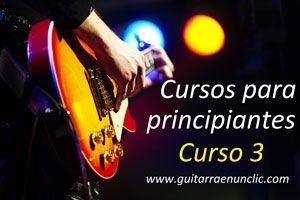 Curso de Guitarra para Principiantes - Desde cero
