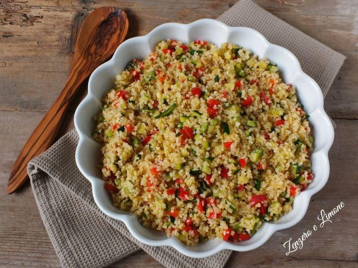 Il bulgur alle verdure è un primo piatto sano e leggero, perfetto per vegetariani e vegani, ricco di fibre ed estremamente digeribile