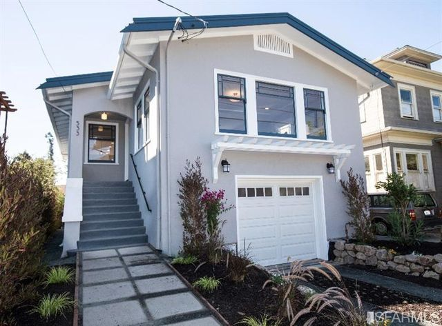 533 66th St, Oakland, CA 94609 Updated Elegant Craftsman: extensively renovated and expanded architect-designed home in NOBE. Light-filled open floor plan liv/din/kit. Peralta Elem. School dist. Near Elmwood, Rockridge shops and cafes, UC, markets, Berkeley Bowl, Whole Foods. Designed for Green Rating. Learn more: www.533-66th.com