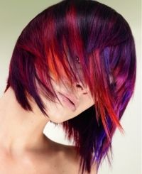 Doesn't tell how really, but I love the purples with the reds and oranges.