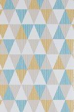 Wallpaper by ellos Tapet Bonnie Petrol - Mønstrede tapeter | Ellos Mobile
