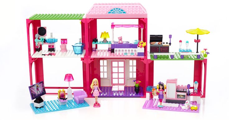 Let your child design their own dream fab mansion with Mega Bloks and Barbie. This set comes with the coolest accessories and both Barbie and Skipper! Enter to WIN one on the blog now. {US/CAN}