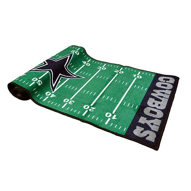Dallas Cowboys Football Field Rug | Home Decor | Home & Office | Accessories | Cowboys Catalog | Dallas Cowboys Pro Shop