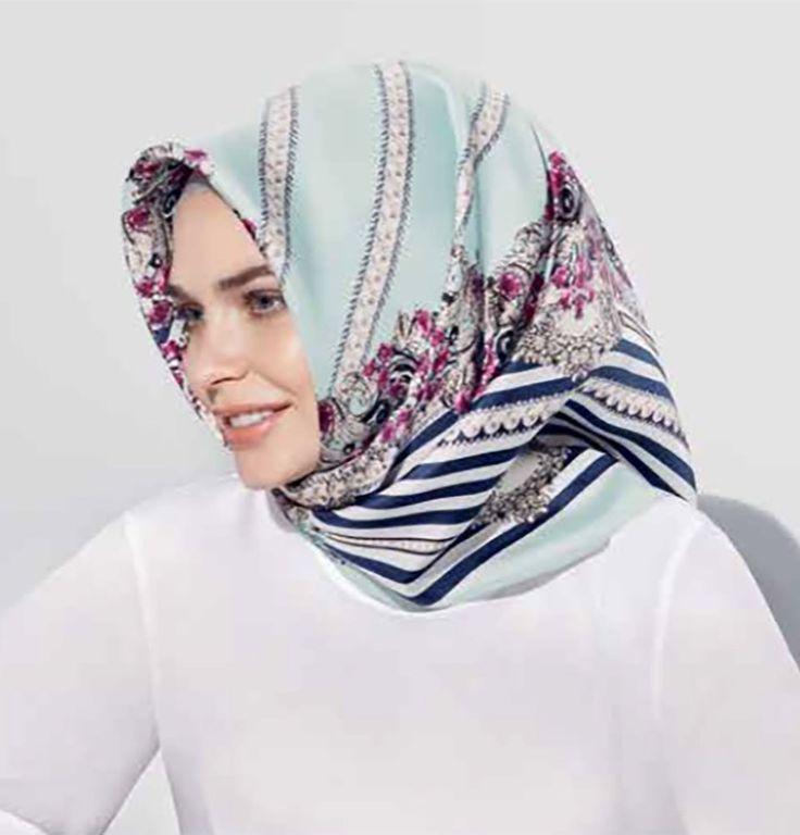 Armine Silk Hijab Spring 2017 #7635