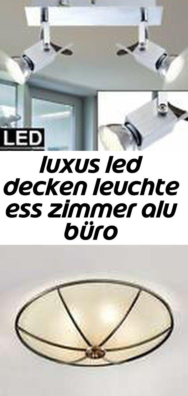 Luxus Led Decken Leuchte Ess Zimmer Alu Buro Beleuchtung Spot Lampe Verstellbar Eek A Beleuchtun 1 Stylish Dining Room Lamp Key Design