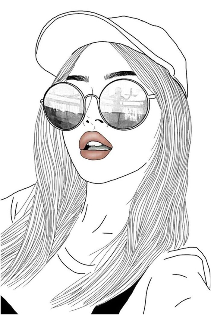 1001 Idees Pour Trouver Le Fond D Ecran Swag Parfait In 2020 Girl Drawing Images Girl Drawing Bff Drawings