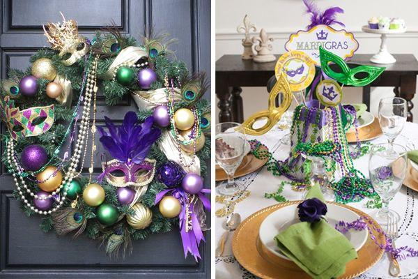 decoratie carnaval masker