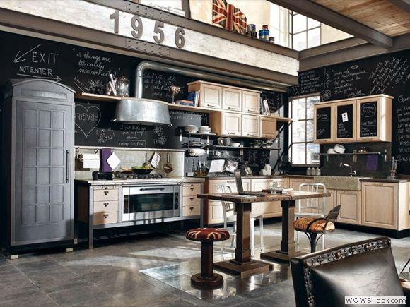 ide dco cuisine style industriel - Cuisine Industriel Vintage