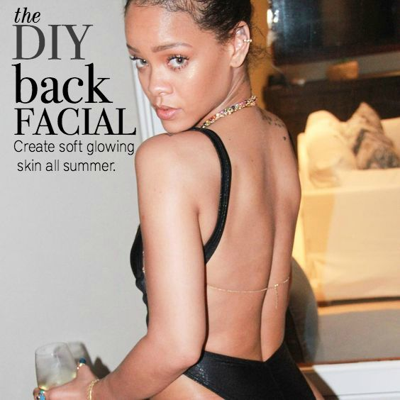 Forget the Spa. Here's How to Give Yourself an At Home Back Facial | BELLEMOCHA.com