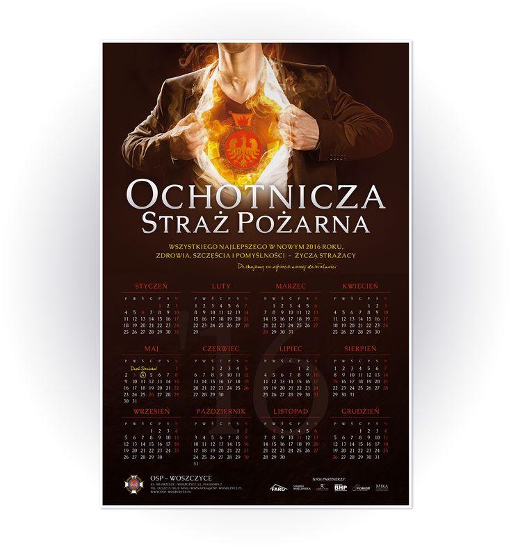 Volunteer Fire Department - calendar design on Behance