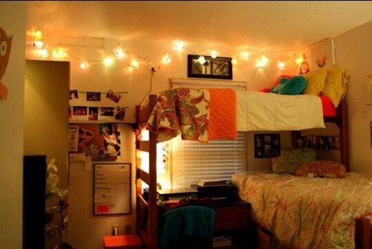 My sophomore dorm room at college of charleston!