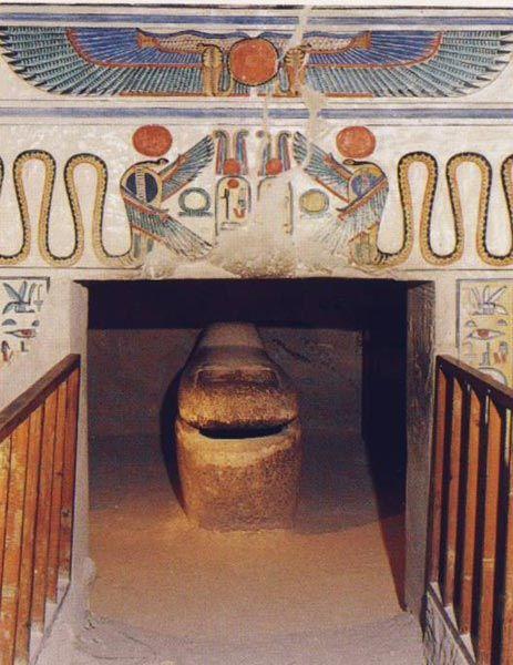 Tumba de Nefertari,  siglo XIII a. C., necrópolis de Tebas, Luxor