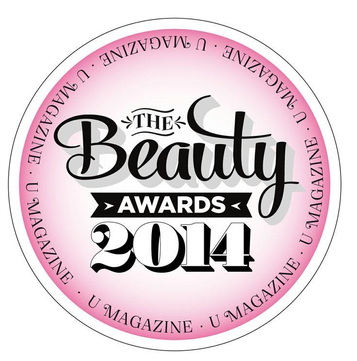 Best Irish Brand - Editor's Choice awarded by U Magazine in the 2014 Beauty Awards