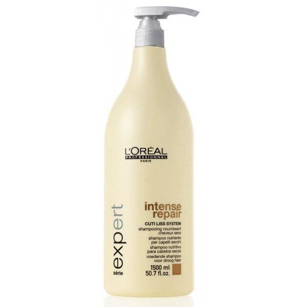 @loreal_es  L' OREAL INTENSE REPAIR 1500ml -   #Champú #LOreal nutritivo para #cabelloseco y maltratado. Champú de #platano y #melon con proteínas, aminoácidos y ceramidas.  http://www.lapeluencasa.com/productos-loreal/productos-cabello/intense-repair