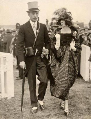 Colonel & Mrs McGrath so put together at the Royal Ascot!