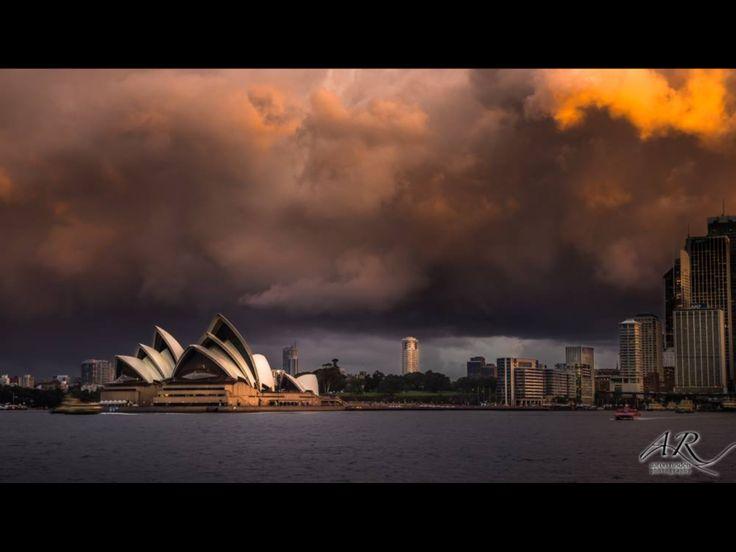 Stormy Sydney. Copyright Aaron Rusden Photography