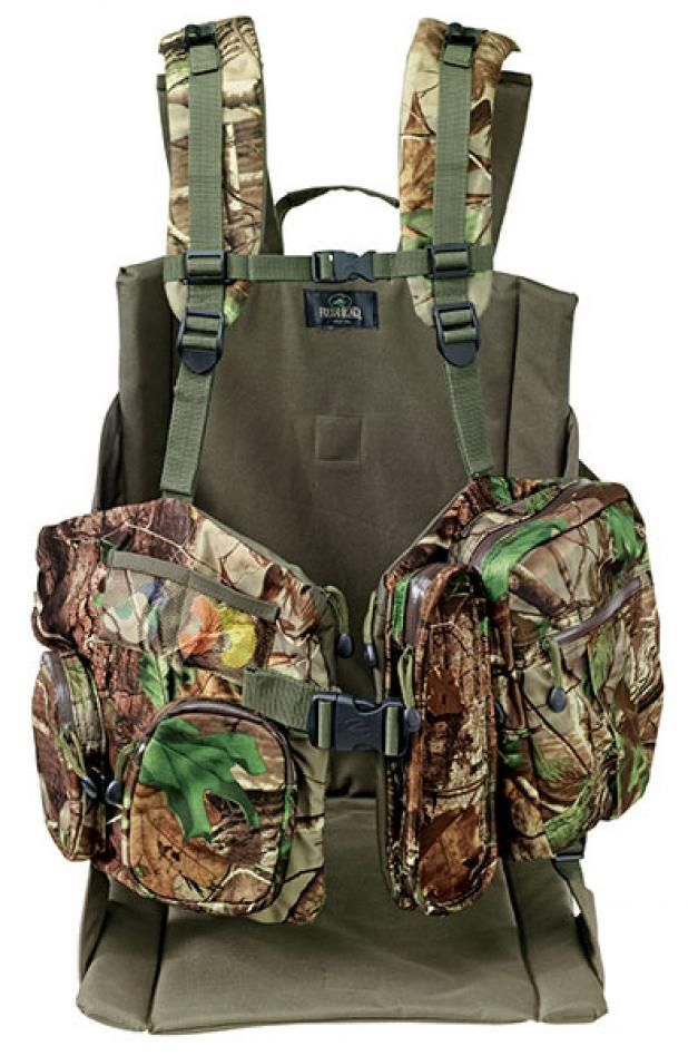 Turkey Hunting Gear: Redhead Bucklick Creek Turkey Lounger Vest | Field & Stream