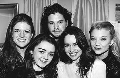 """The dynamics on the """"Thrones"""" cast are quite special. Because it's such an all-encompassing, huge cast, complete range of ages, backgrounds, trainings and experiences, it is one big happy family. It's bizarre, but it is. - Natalie Dormer"""