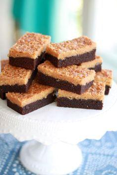 Choklad och kokosrutor / Bakverk ~ Recept | Leila Lindholm (leila.se)