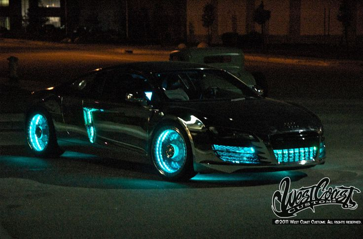 west coast customs cars | ... ? Audi R8 Tron by West Coast Customs | Car tuning and Modified Cars