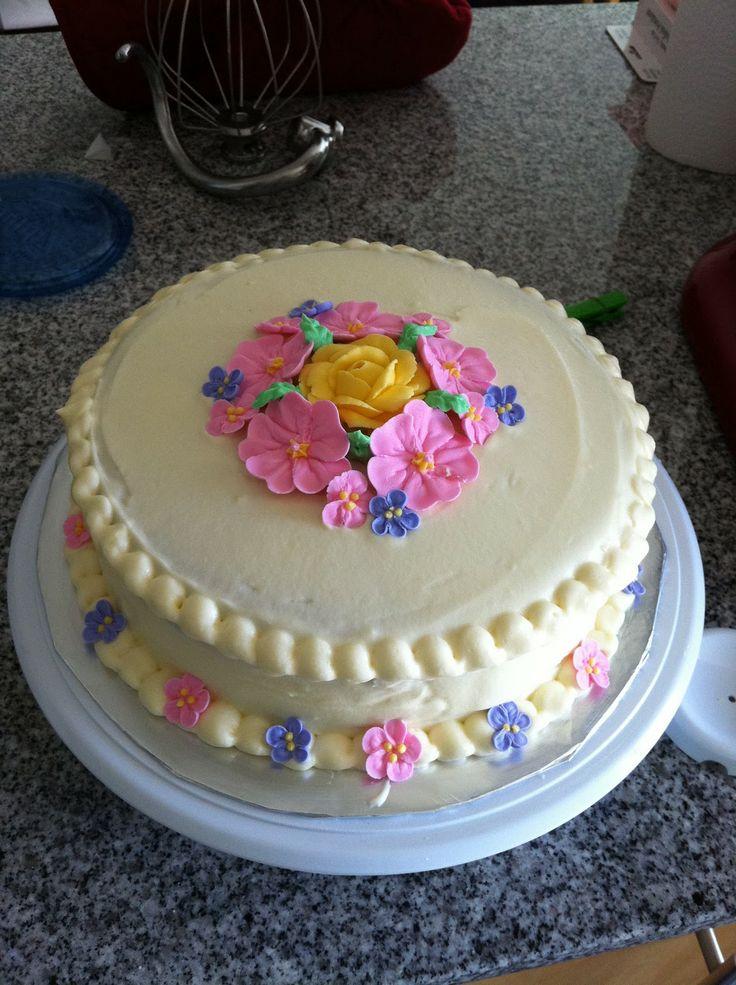 i eated it michaels wilton cake decorating course flowers cake design - Michaels Cake Decorating Classes