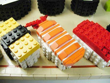 Lego sushi... delicious!: Lego Denmark, Lego Time, Sushi Lego, Lego Stuff, Sushi Art, Pas Sushi, Lego Nerd, Lego Sushi, Sushi 3 Jpg