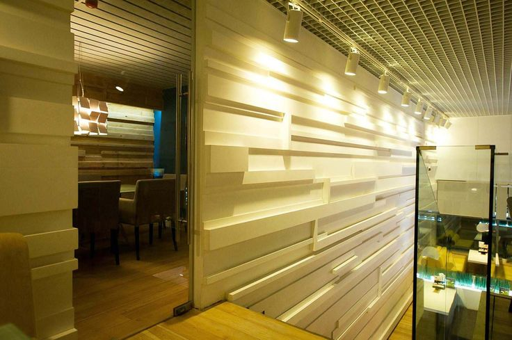 Суши Мин, restaurant wall-design design by S. Gorshunov, A. Feoktistova