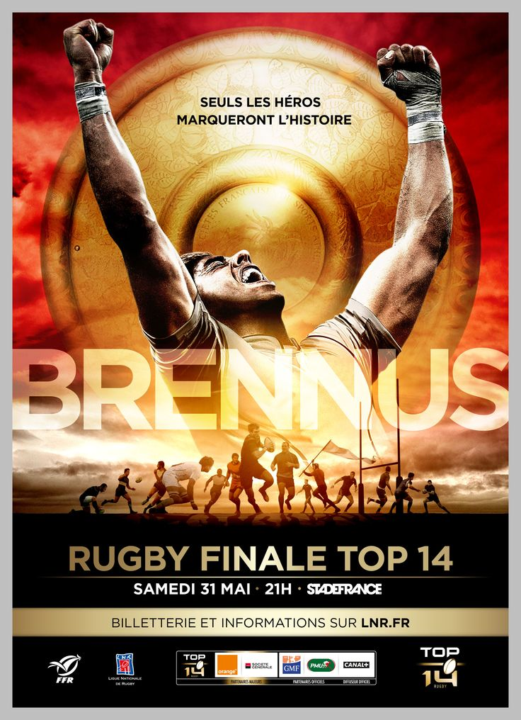 Brennus shield french trophy