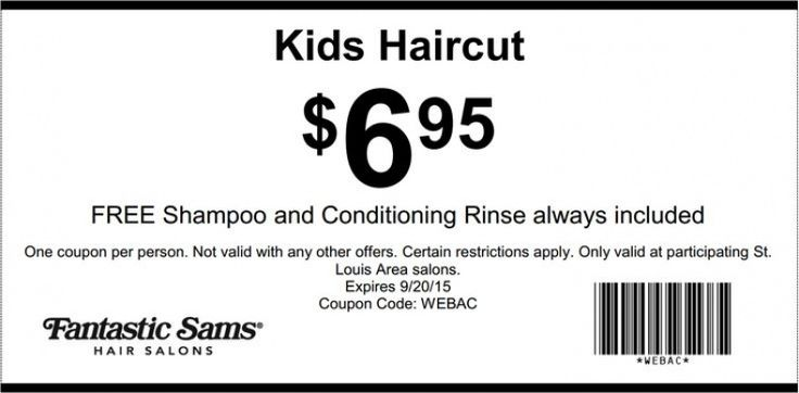 Kids Haircuts Coupons