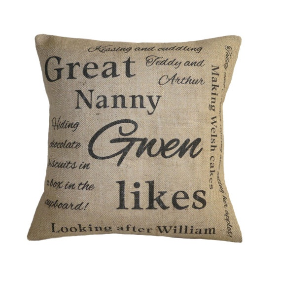 Personalised \u0027Likes\u0027 Cushion by VintageDesignsReborn on Etsy such a personalised item would be such a wonderful gift to give someone for every occasion x ...