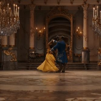 Emma Watson - Beauty and the Beast gif