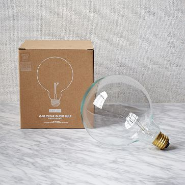 Edison-Style Bulb, Round