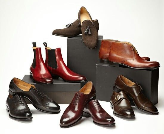 Paul Evans. Oxfords, loafers, chukkas, dress boots, monk straps and cap toes - the essentials.