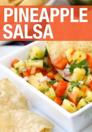 Your friends and family will love this pineapple salsa recipe.