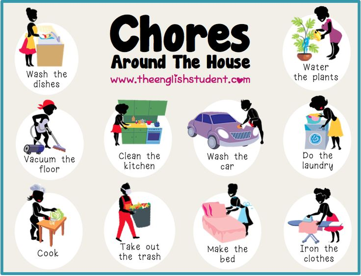 Picture of household chores