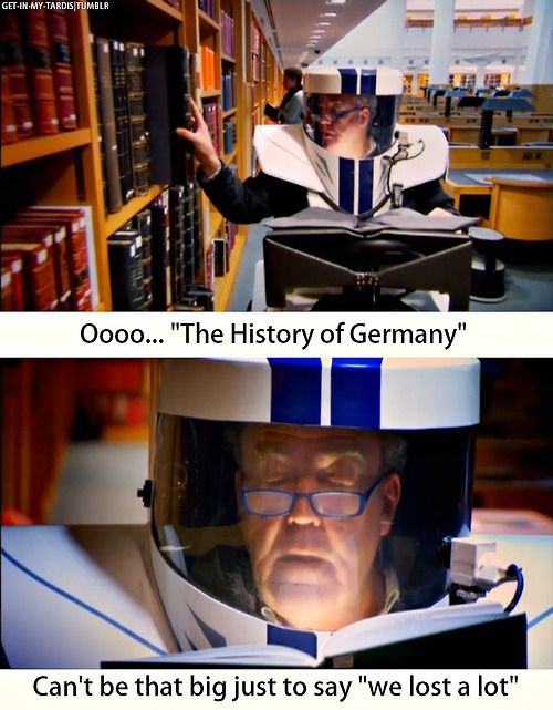 top gear: the history of Germany can't be that big just to say we lost alot