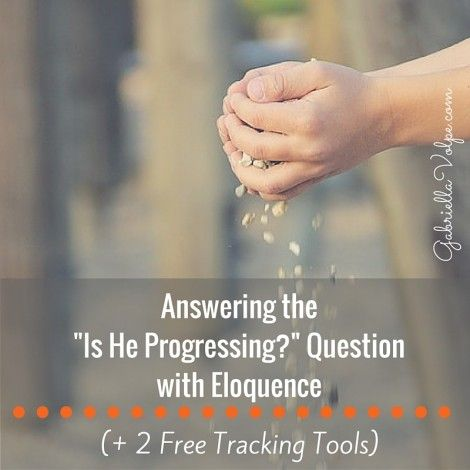 Answering the -Is He Progressing-- Question with Eloquence (+2 Free Tracking Tools)
