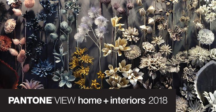 Discover the Pantone View Home + Interior color trends for 2018. Learn key color direction and color scheme proposals for interior design and the home furnishings market.