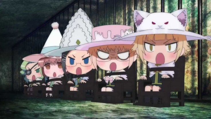 so Kawaii!! ^_^ the end credits song from Witch Craft Work is the best!