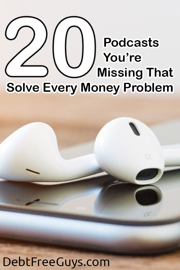 Do you love Money Podcasts? We do too! This list of 20 will get you on the path…