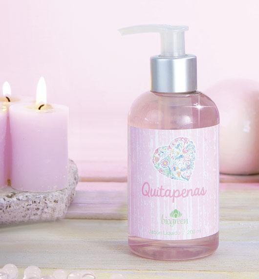 JABÓN LÍQUIDO  I  Un delicado jabón líquido que limpia tus manos, con ternura y suavidad, dejándolas sutilmente perfumadas.